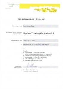 Updatetraining Centraline 2.2 / Seitz