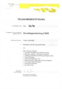 Grundlagentraining CARE / Seitz