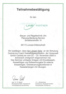 Centraline Coach Kesselapplication / Seitz