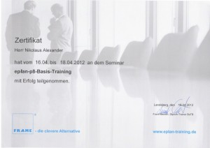 Eplan P8 Basis Training / Nikolaus & Krach