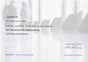 Eplan P8 Aufbautraining / Nikolaus