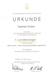 Kammer-, Landes- und Bundessieger / Greber