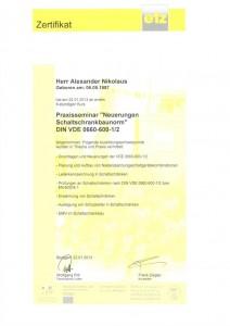 Neuerungen Schaltschrankbaunorm DIN VDE 0660-600-1/2 /Nikolaus & Krach
