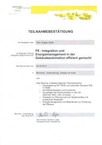 P8 – Integration und Energiemanagement in der Gebäudeautomation / Seitz