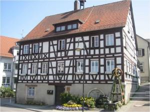 Esslingen am Neckar – Altes Rathaus in Berkheim